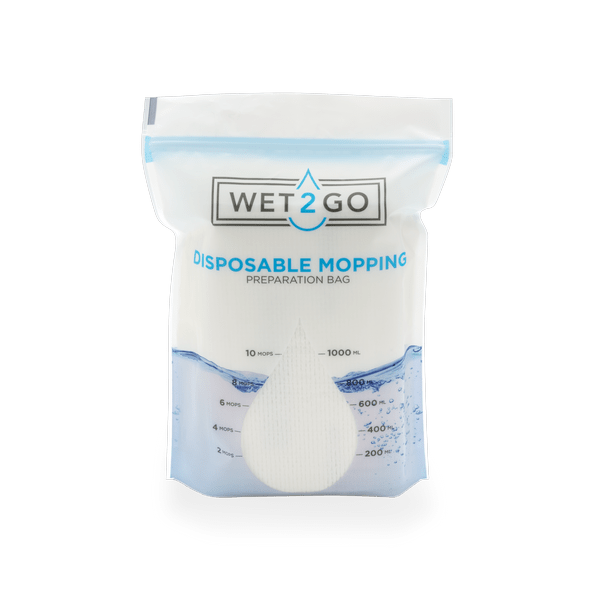 preparation bag disposable mopping